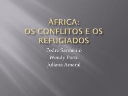 África: os conflitos e os refugiados