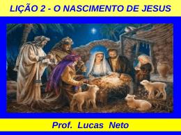 2T_2015_Lição 2_O Nascimento de Jesus