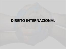 FONTES DO DIREITO INTERNACIONAL PÚBLICO Eqüidade