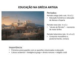 Educação na Grécia Antiga