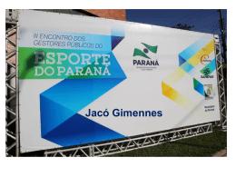 Jacó Gimenez - Secretaria do Esporte e do Turismo