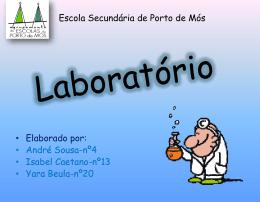 materiais de laboratorio
