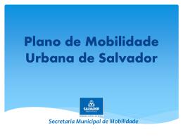 Plano de Mobilidade Urbana