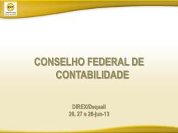 Gestão da Qualidade no CFC - Conselho Federal de Contabilidade