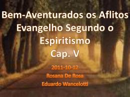 Bem Aventurados os Aflitos (RosanaDR)