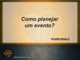 Como planejar um evento?