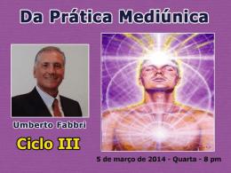 Da Prática Mediúnica (UmbertoF)