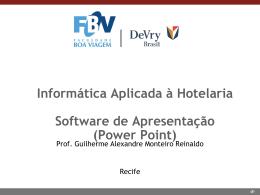 Aula 7 (01/06/2015) - Software de Apresentação
