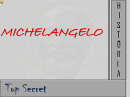 MICHELANGELOresumo