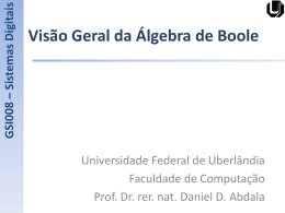 0 - Facom - Universidade Federal de Uberlândia