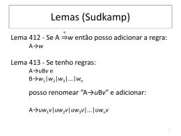 slides sobre pre-normalizacao de gramáticas