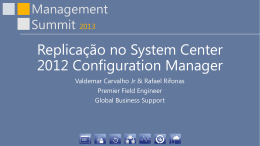 Replicação no System Center 2012 Configuration Manager