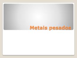 O que acontece se ingerirmos metais pesados