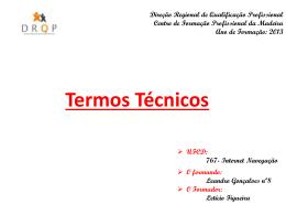 Direção Regional de Qualificação Profissional Centro de Formação