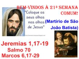 salmo responsorial: (70)