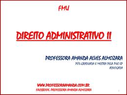 Licitação - Professora Amanda