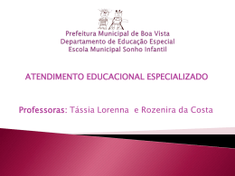 slide AEE - Professores do AEE/ V -2014
