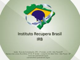 0 recupera brasil - Ministério do Desenvolvimento, Indústria e