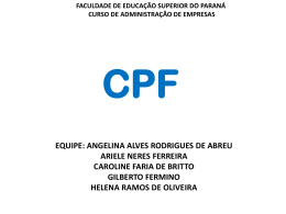 CPF - slides