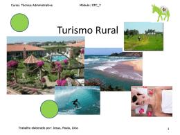 Turismo Rural - pradigital-paulacrisalexandre