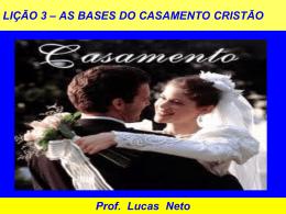 2T_2013_Lição 3_As Bases do Casamento Cristão