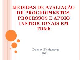 APRES_2011_Furlanetto_Medidas de avaliação de