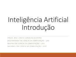 Introdução - Profa. Cintia Oliveira