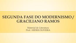 segunda fase do modernismo / graciliano ramos
