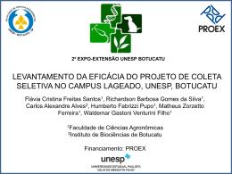 II Expo UNESP 2011 - Faculdade de Ciências Agronômicas