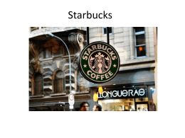Starbucks - Blogs Unasp