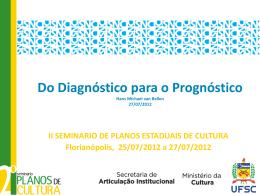 Diagnóstico - Projeto de Apoio à Elaboração de Planos Estaduais