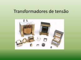 Transformadores de tensão