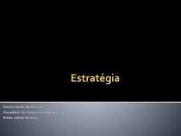 Estratégia - Universidade de Brasília