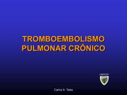 Tromboembolismo Pulmonar Cronico