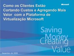 Plataforma de Virtualização Microsoft