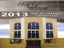 culto de ensino vila solange exercendo o ministério com excelência