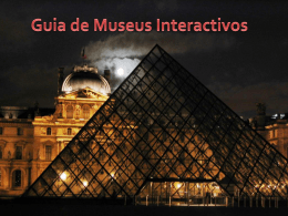 Guia de Museus Interactivos Museu Guggenheim