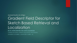 Gradient Field Descriptor for Sketch Based Retrieval and Localization