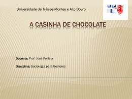 A Casinha de Chocolate
