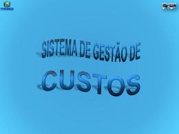Sistema Gestão de Custos PE - Stenio