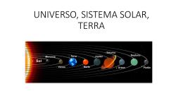 UNIVERSO, SISTEMA SOLAR, TERRA
