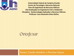 OpenJump - Área de Engenharia de Recursos Hídricos
