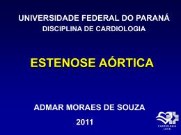 estenose aórtica - Hospital de Clínicas/UFPR