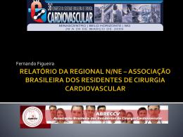 Relatório das Regionais - Parte 2 - Sociedade Brasileira de Cirurgia
