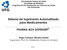 pharma box dispenser - Doutor Medicamentos