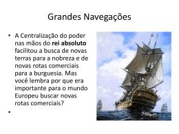 Grandes Navegações