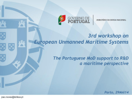 How to build the BLUE GOWTH? - 3rd Workshop on European