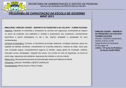 Slide 1 - Prefeitura do Recife