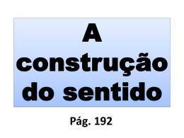 2015A construção do sentido