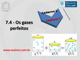 Capítulo 7.4 – Comportamento dos gases